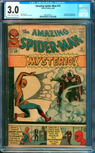 Amazing Spider-Man #13 CGC Graded 3.0 and 1st Appearance of Mysterio