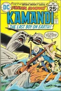 DC KAMANDI, THE LAST BOY ON EARTH #25 GD