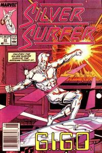 Silver Surfer (1987 series) #24, NM- (Stock photo)