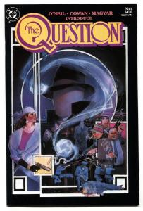 The Question #1 First issue-DC comic book 1986