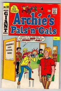 Archie's Pals 'n' Gals # 50 Strict FN/VF Mid-High-Grade Cover Hippy, Jughead