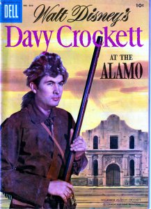 Dell Four Color Series # 639 - Davy Crockett