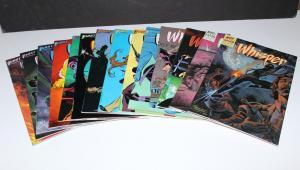Mixed Lot 14 FIRST Comics WHISPER '83#1-2,'85#1,'86#1-6,'87#7-10,'88#11(SRU127)