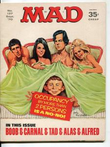 Mad-Magazine-#137-Sept-1970-Mort Drucker-Don Martin-David Berg