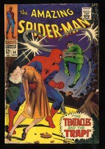 Amazing Spider-Man #54 VG 4.0 Doc Ock!