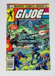 G.I. JOE A REAL AMERICAN HERO #5 NEWSSTAND (MARVEL)