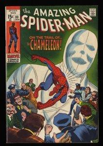 Amazing Spider-Man #80 VG/FN 5.0 Chameleon!