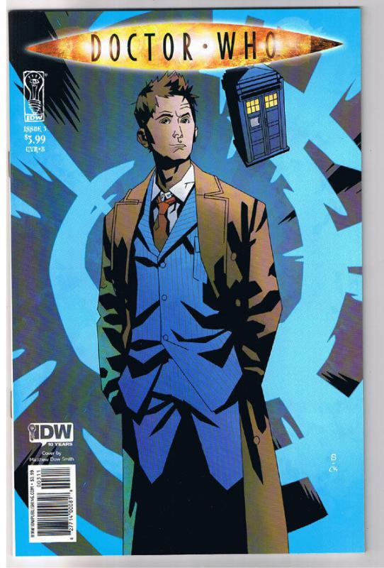 DOCTOR WHO #3 B, NM, Matthew Smith, Fugitive, Judoon, 2009, IDW,more DW in store
