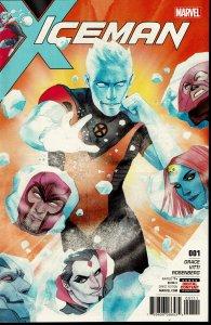 Iceman #1 - 9.2 or Better - Marvel 2017