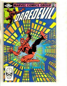 Daredevil # 186 NM Marvel Comic Book Foggy Karen Avengers Defenders Owl GK2