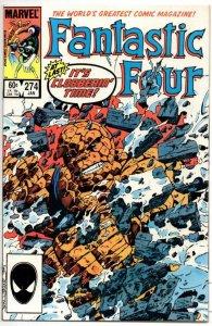 FANTASTIC FOUR #274 VF/NM Monster Mash  Byrne 1961 1985 Marvel, more FF in store