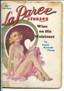 La Paree 5/1933-Merwill-R.A. Burley spicy girl cover-saucy pulp thrills-P