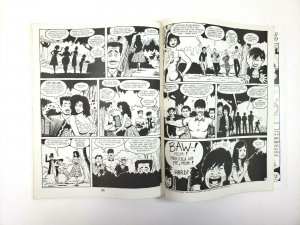 LOVE and ROCKETS #10 Fantagraphics First Printing 1985 Adult Comic Magazine