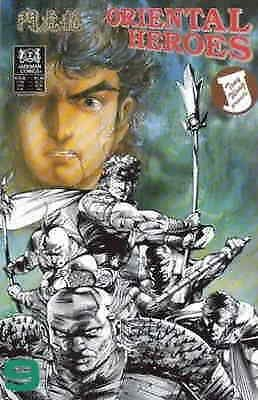 Oriental Heroes #9 VF/NM; Jademan | save on shipping - details inside
