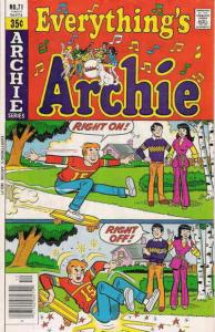 Everything's Archie #71 VG; Archie | low grade comic - save on shipping - detail