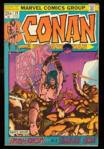 CONAN THE BARBARIAN #19 1972-MARVEL COMICS VG