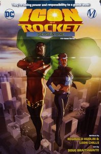 Icon & Rocket Season One Folded Promo Poster (24 x 36) New! [FP53]