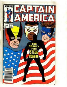 10 Cap America Comics # 336 337 350 358 361 367 368 369 370 371 EK13