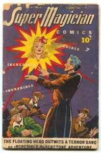 Super Magician Vol 4 #6-Blackstone-Red Dragon G-