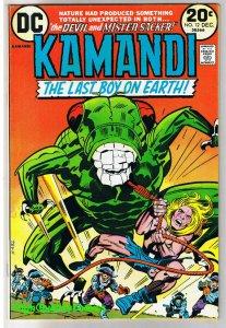 KAMANDI #12,  VF, Jack Kirby, Last Boy on Earth, 1972, more JK in store