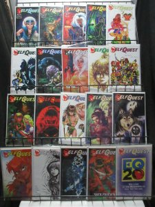 Elfquest (Warp v2 1996) #1-33 Complete Series by Wendy Richard Pini + More