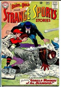 Brave and The Bold #49 1963-DC-strange sports stories-Infantino art-VF-