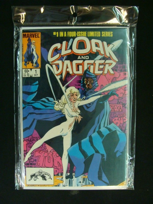Cloak & Dagger #1-4 Limited Series Complete Set Run Marvel Comics NM Condition