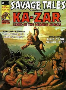 Savage Tales (1st Series) #11 FN; Marvel   we combine shipping
