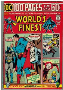 WORLDS FINEST 226 FN- Dec. 1974 100 PAGE GIANT
