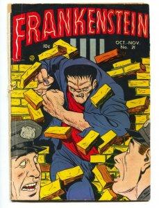 FRANKENSTEIN #21-ICONIC CVR-DICK BRIEFER--PRE-CODE HORROR