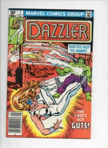 DAZZLER #7, NM-, Hulk, 1981, more Marvel in store