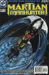 Martian Manhunter #27 VF; DC | save on shipping - details inside