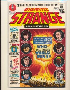 STRANGE ADVENTURES #226, VG+, Adam Strange, DC. 1950 1970 more DC in store