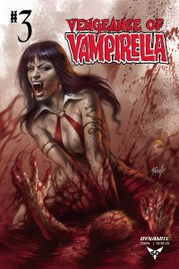 Vengeance Of Vampirella #3 Cvr A Parillo (Dynamite, 2019) NM