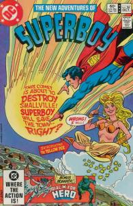New Adventures of Superboy, The #34 VF; DC | save on shipping - details inside