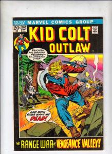 Kid Colt Outlaw #162 (Sep-72) VG/FN Mid-Grade Kid Colt