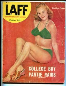 Laff 10/1952-Shirley Pegge-show girls-cheesecake-exploitation-swimsuit-G