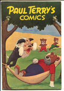 Paul Terry's Comics #121 1955-Mighty Mouse-Heckle & Jeckle-1st painted cover-G
