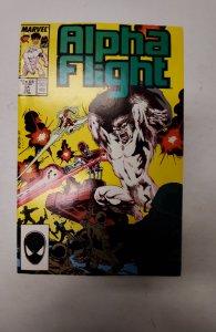 Alpha Flight #51 (1987) NM Marvel Comic Book J679