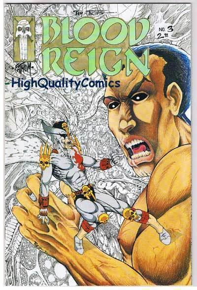BLOOD REIGN #3, NM, Tim Tyler, Fathom Press, Horror, 1991, more indies in store
