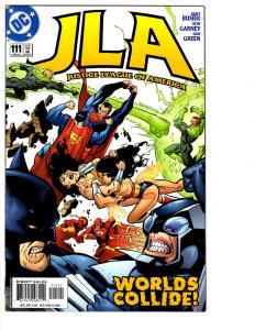 5 JLA DC Comic Books # 111 112 113 114 115 Superman Batman Flash Aquaman BH13