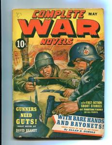 COMPLETE WAR PULP-MAY-1943-NAZI/MILITARY FIGHT-WW II    FN