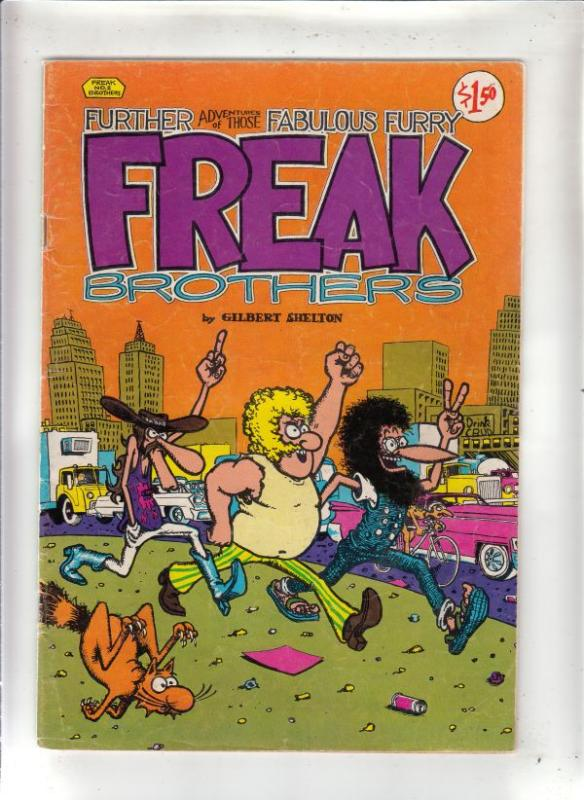 Fabulous Furry Freak Brothers #2 (Jan-80) VG/FN High-Grade The Freak Brothers...