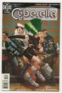 Cyberella #3 1996 Helix Comics VF+ HC2