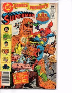 DC Comics Presents #46 Superman and The Global Guardians VF