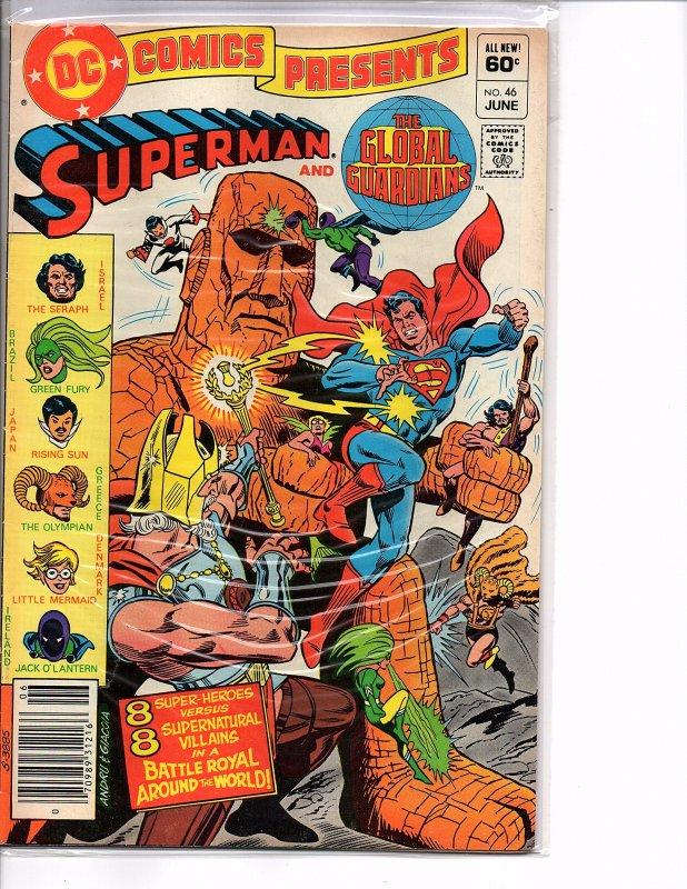 DC Comics Presents #46 Superman and The Global Guardians VF