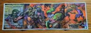34 x 11 Werewolf Wild West Glenn Fabry Promo Poster NO PIN HOLES NEW