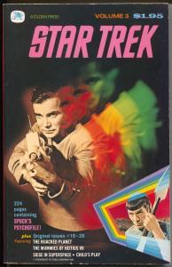 Star Trek Giant #3 1977-reprints issues 18 -26-Mr Spock PsychProfile-VF+
