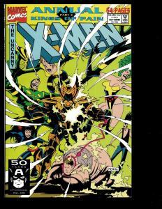 Lot of 10 Uncanny X-Men Marvel Comics '91 '92 '93(2) '94 '95 '96 '97 '98 -1 JF3