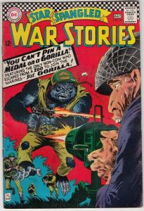 Star Spangled War Stories #126 (May-66) VG+ Affordable-Grade Gorilla
